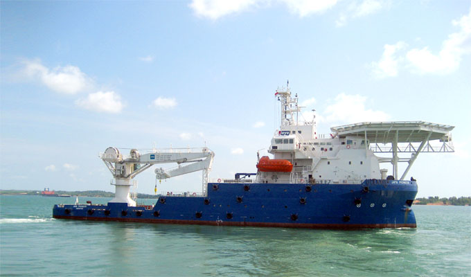 MRA MARINE - Providing Vessel - Offshore Project - Salvage